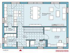 Fertighaus und Energiesparhaus - Villa 183 EG