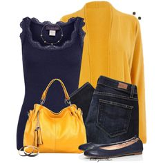 A fashion look from October 2014 featuring Rosemunde tops, Paige Denim jeans and Tory Burch flats. Browse and shop related looks.