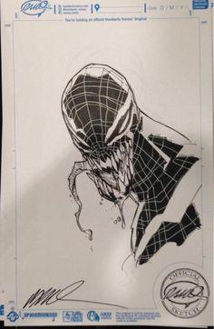 Superior Venom Con Sketch by Ramos