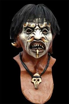 he horrid priest is said to bring the dead back to life and turn them into zombie slaves. Huge selection of Halloween and horror masks! Witch Doctor Costume, Voodoo Costume, Voodoo Halloween, Halloween Men, Halloween House, Halloween Makeup, Halloween Costumes, Halloween 2017, Halloween Ideas