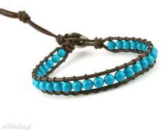 Mini Snake Wrap: Niebieski turkus. $16
