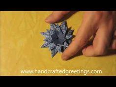 Sterne aus Teebeutelhüllen - YouTube