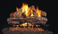 R. H. Peterson RealFyre Cedar Designer Vented Gas Log Set (CR)