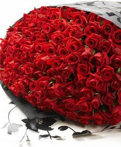 It is so nice to surprise your partner with red roses .