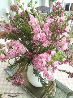 D.D.'s Cottage and Design: Pretty in Pink