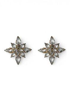 Crystal Beads Earrings