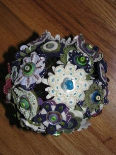 I love the symoblism of the turquoise flower and how much you can customize these. I am a flower child (~Marka)