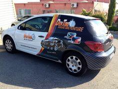 Marquage publicitaire véhicule utilitaire ou de société - semi covering et car wrapping - Signpub (Aix-Marseille 13) Car Wrap, Wraps, Van, Wrapping, Paint, Business, Marseille, Vans, Rolls