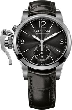 Graham Watch Chronofighter 1695 Steel Black #bezel-fixed #bracelet-strap-alligator #brand-graham #case-material-steel #case-width-42mm #chronograph-yes #date-yes #delivery-timescale-call-us #dial-colour-black #gender-mens #luxury #movement-automatic #new-product-yes #official-stockist-for-graham-watches #packaging-graham-watch-packaging #style-dress #subcat-chronofighter-1695 #supplier-model-no-2cxas-b05a-c137s #warranty-graham-official-2-year-guarantee #water-resistant-50m