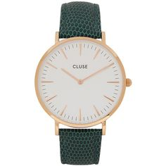 83481d9731d1 CLUSE La Bohème Rose Gold Tone Watch (€90) ❤ liked on Polyvore featuring