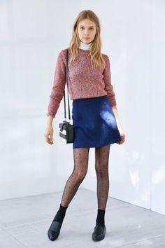 61e20e00147 Cooperative Button Waist Mini Skirt