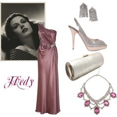 """Hedy Lamarr"" by connie-collier-cain on Polyvore"