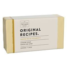 Cleanse your hands in a warm, sensual botanical blend of star jasmine, orange blossom and white tea resting on an intoxicating base of exotic spices, precious woods, tonka and gentle vanilla. All our Original Recipe luxury soap bars are triple-milled for long-lasting luxury, naturally coloured, use an RSPO base and are packaged in recycled paper with biodegradable inks. Dermatologically tested. Sensitive Formula. Vegan Friendly. Homemade Soap Bars, Vegan Bar, Little Buddha, Soap Packaging, Packaging Ideas, Luxury Soap, Soap Recipes, Original Recipe, Bar Soap