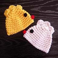 Chicken Hat :))) Great Easter Idea and DIY project, very easy photo tutorial, even beginner can make it!