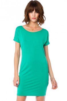Johanna Dress in Green