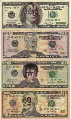 KI$$ Cultura Pop, Banda Kiss, Kiss Art, Hot Band, Gene Simmons, Ramones, Iron Maiden, Founding Fathers, Andy Warhol