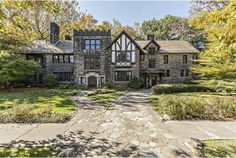 """A+true+Elizabethan+Tudor+style+home,+Harcourt+Manor+has+reigned+among+the+palatial+estates+of+the+Ambler+Heights+Historic+District+in+Cleveland+Heights+for+100+years.+Constructed+in+the+European+manor+with+walls+of+quarried+rock+and+floors+of+hard+wood,+Harcourt+Manor+and+her+neighboring+structures+were+built+by+the+sons+and+daughters+of+Cleveland's+Millionaire+Row. """"This+home+was+built+to+last+1,000+years.+At+100+years+old,+we're+just+getting+started,""""+says+Jim+Herget,+whose+family+ha... Abandoned Houses, Old Houses, Abandoned Castles, Abandoned Mansions, Abandoned Places, Sims, Cleveland Heights, Cleveland Ohio, Columbus Ohio"""