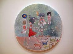 Aya Takano Aya Takano, Superflat, My Favorite Things, Gallery, Artist, Illustrations, Cats, New York City, Entrance Halls