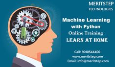 Meritstep is the Top & Best Software and IT Training for Machine Learning with Python Online Training Courses in India, USA, UK. We Provide AI and Machine Learning Python Course in USA, UK. Training Software, Online Training Courses, Online Coaching, Machine Learning Course, Machine Learning Deep Learning, Logistic Regression, Linear Regression, Artificial Neural Network, Learning Organization