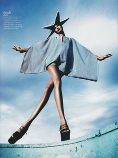 Ma Cherie, Dior: Vogue Paris, February 2011 - Featuring Joan Smalls