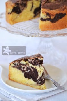 Bake for Happy Kids: Marble Butter Cake