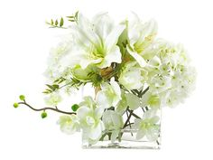 John Richard Illusions Of White Floral Arrangement