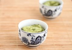 Sooo....this is going to be dangerous. Just found the recipe for: One serving Matcha Mochi Cups