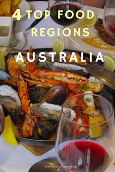 4 Top Food Regions in Australia that will delight foodies.