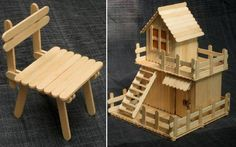 Awww - that's cute! Little lollypop chair and house!