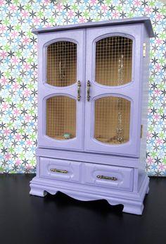 Jewelry Box In Light Purple: Charlotte