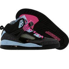 Nike Womens Jordan Spizike (black / pink / ice blue) 317574-02 - $199.99