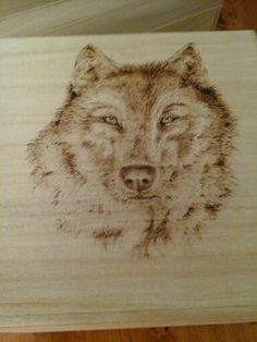 My wolf box finished :) by Flamed Art