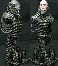 Prometheus – Engineer Custom Bust by Apikitt L. Arte Alien, Arte Sci Fi, Alien Art, Sci Fi Art, Aliens Movie, Aliens And Ufos, Creepy Art, Weird Art, Prometheus Engineer