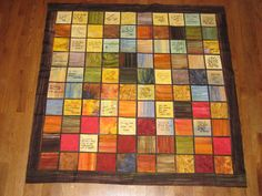 This quilt is a unique way to record messages from your wedding guests in a beautiful (and functional) keepsake that will last generations.  You can choose any color scheme for the quilt - it can be a multi-colored fabric pattern or customized to your wedding color palette. I will work with you to make sure the colors of the quilt are exactly what you want. I can even include leftover lace or fabric from your wedding dress in the design.  Once you choose your color scheme, I will mail you…