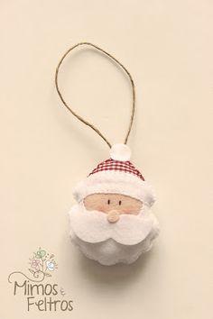 Christmas Crafts Felt. Repinned by www.mygrowingtraditions.com