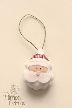 Christmas Crafts Felt. Repinned by www.mygrowingtraditions.com