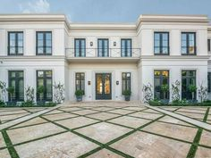 The $31.75 million, neoclassical mansion at North Bay Road in Miami Beach.