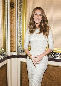 """Celine Dion promotes her new track, """"Unfinished Song,"""" in New York on Oct. 27, 2013."""