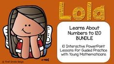 Engaging guided practice lessons have students working alongside Lola to learn all about numbers! Includes starting at any number and counting on by tens, then ones! Common Core aligned!