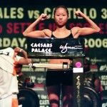 Boxing weight weigh ins | Christina Kwan