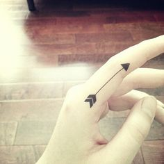 i really want an arrow tattoo on my finger, because of what it represents: thought, direction, and even protection.