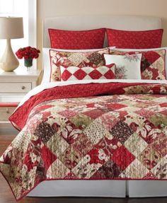 Martha Stewart Collection Antique Patchwork Quilts | macys.com