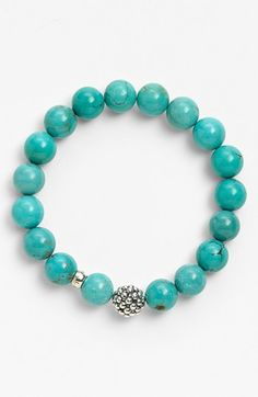 Free shipping and returns on Lagos Bead Stretch Bracelet at Nordstrom.com. Rich, colorful semiprecious stones are polished into glossy beads for a comfortably stretchy, Caviar-accented bracelet.