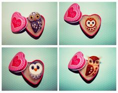Bird Brooch Owl jewelry Gifts for sister Forest от AmiraliFelt