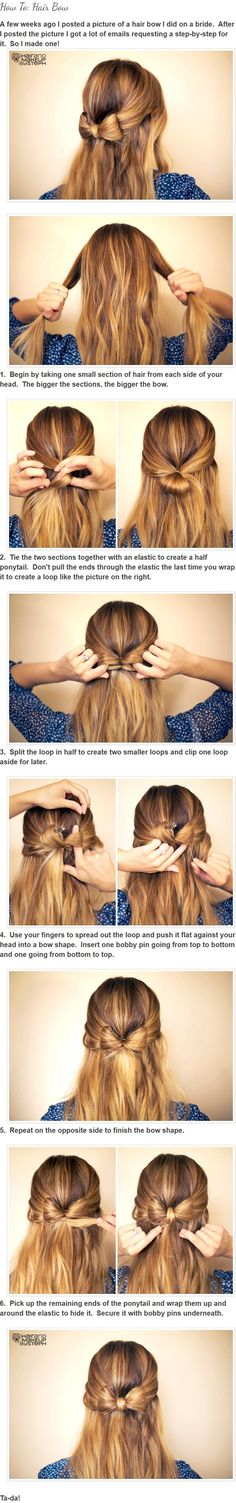 How To: Hair Bow by Steph