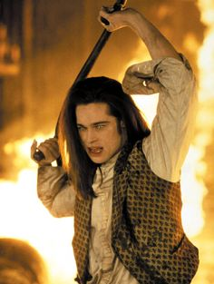 brad pitt as louis in interview with the vampire