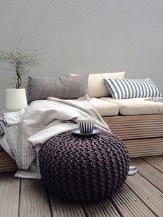 Terrassenpause am Nachmittag......