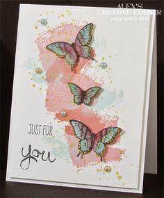 Alex's Creative Corner: Pastel Butterflies