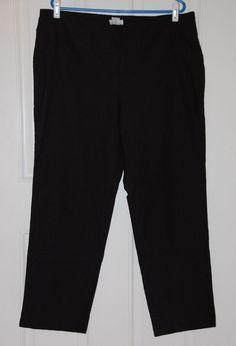 Charter Club Pant Shop Sz 20W Straight Leg Classic Fit Plus Pull On Pants #CharterClub #CasualPants
