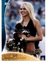 2009 Topps Cheerleaders #C3 Kelli - Jacksonville Jaguars (The Roar) (Football Cards) by Topps Cheerleaders. $1.00. 2009 Topps Cheerleaders #C3 Kelli - Jacksonville Jaguars (The Roar) (Football Cards)